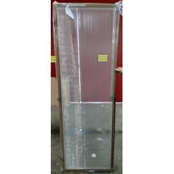 Moskitiera drzwiowa 72 x 212 cm Mahoń