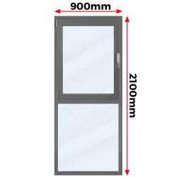 Okno Aluminiowe 900 x 2100