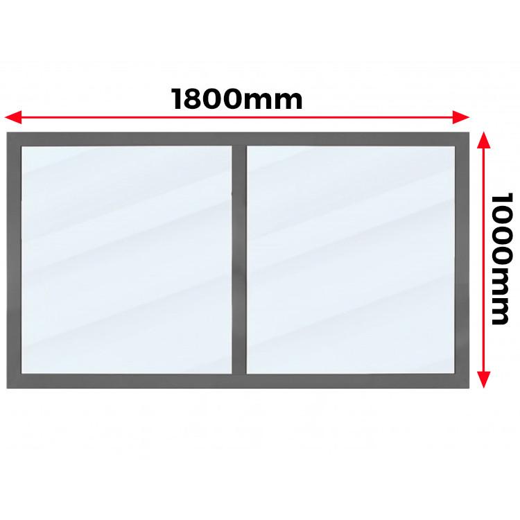 Okno Aluminiowe  1800 x 1000