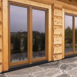 Okno drewniane 700 x 2250 mm