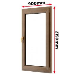 Okno drewniane 900 x 2150 mm