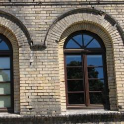 Okno drewniane 1400 x 2800 mm