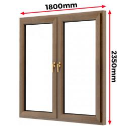 Okno drewniane 1800 x 2350 mm