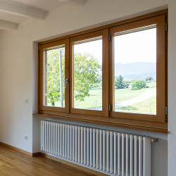 Okno drewniane 1500 x 2350 mm
