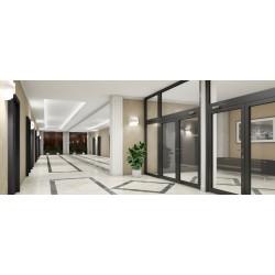 Okno Stałe Aluminiowe PPOŻ 1640 x 600