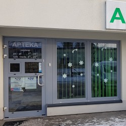 Drzwi Aluminiowe 1000 x 2150