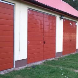 Brama rozwierna 3000 x 2700 RAL 3011