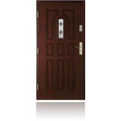 Drzwi zewnętrzne 9 PANELI, witraż B