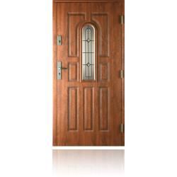 Drzwi zewnętrzne 9 PANELI, witraż A