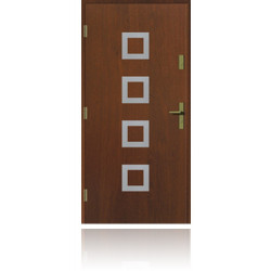 Drzwi zewnętrzne KWADRO INOX
