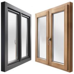 Okno drewniane z nakładką 1900 x 2100