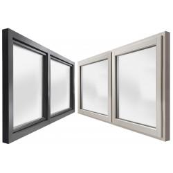 Okno drewniane z nakładką 1500 x 1000