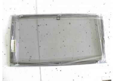 Moskitiera okienna mahoń