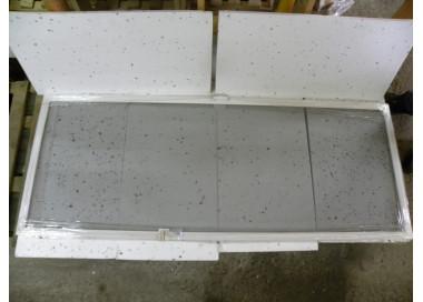 Moskitiera drzwiowa lewa biała