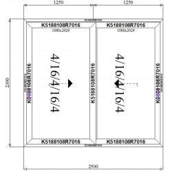 Drzwi Aluminiowe HST 2500 x 2300