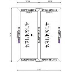 Drzwi Aluminiowe HST 2016 x 2470