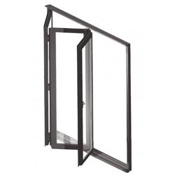 Drzwi Harmonijkowe Aluminiowe 2400 x 2200