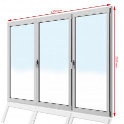 Drzwi balkonowe PCV 2700 x 2200