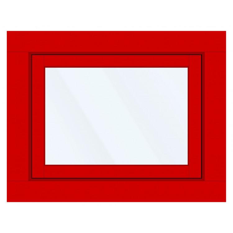 Okno PCV z nakładką Aluskin 800 x 600