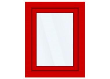 Okno PCV z nakładką Aluskin 945 x 1255