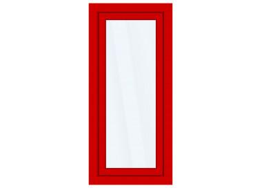 Okno PCV z nakładką Aluskin 900 x 2150