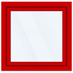Okno PCV z nakładką Aluskin 1200 x 1200