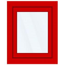 Okno PCV z nakładką Aluskin 860 x 1200