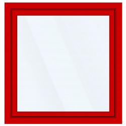 Okno PCV z nakładką Aluskin 2100 x 2300
