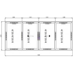 Drzwi Aluminiowe HST 5000 x 2150