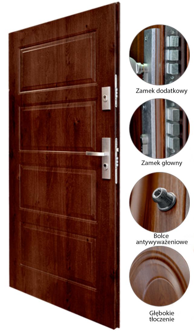 opis drzwi KMT